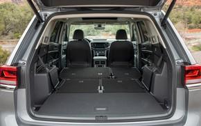Picture Volkswagen, inside, SUV, Atlas, 2020, gray-silver