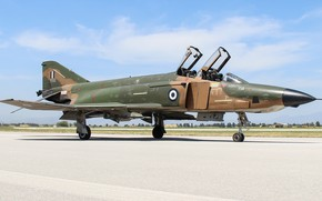 Picture Fighter, Lantern, Parking, F-4 Phantom II, Chassis, Greek air force, Hellenic Air Force, McDonnell Douglas …