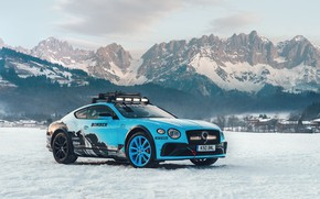 Picture snow, mountains, Bentley, Continental, Bentley Continental, 2020, Bentley Continental Gt