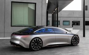 Picture Mercedes-Benz, Mercedes, Benz, Vision, Vision EQS, Mercedes-Benz Vision EQS, EQS