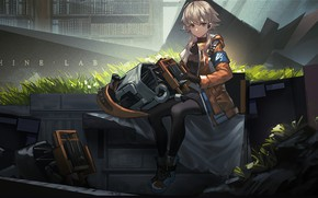 Picture girl, spare parts, Arknights