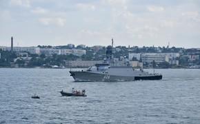 Picture the city, ship, Bay, hero, Sevastopol