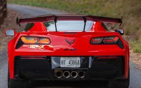Picture Chevrolet Corvette ZR1, Rear view, 2019