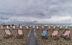 Picture Devon, England, Beer Bay, End of season