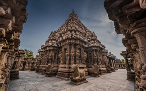 Picture architecture, Kailasanathar temple, Kanchipuram