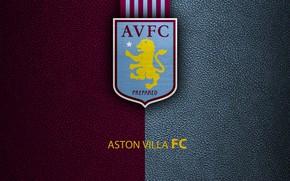 Picture wallpaper, sport, logo, football, English Premier League, Aston Villa