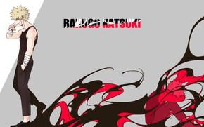 Picture background, guy, Boku No Hero Academy, My Hero Academy, Bakuga Katsuki