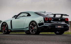 Picture wing, back, Nissan, GT-R, R35, Nismo, ItalDesign, 2020, V6, GT-R50, 720 HP