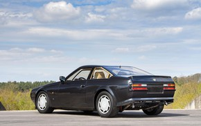 Picture Black, Car, Aston Martin V8 Vantage Zagato