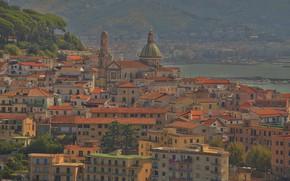 Picture home, Italy, panorama, Vietri Sul Mare
