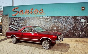 Picture Red, Chevy, Lowrider, Custom, THE Way