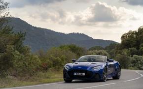 Picture Aston Martin, DBS, Road, Mountains, Superleggera, Volante, 2019, Aston Martin DBS Superleggera Volante
