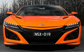 Picture Honda, front view, NSX, 2019