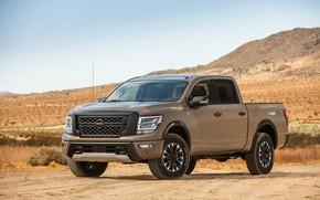 Picture Nissan, pickup, primer, Titan, 2020, Pro-4X