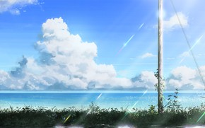 Picture Clouds, Anime, Art