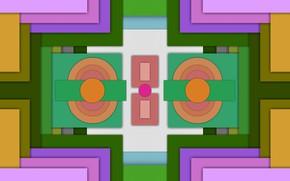 Picture color, figure, symmetry