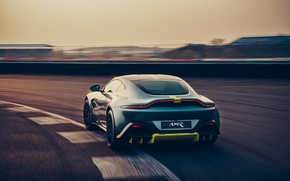 Picture machine, Aston Martin, Vantage, sports car, racing track, AMR