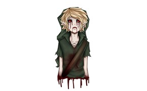 Picture blood, elf, undead, creepypasta, If