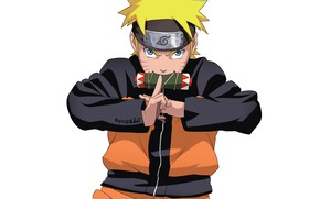 Picture look, guy, Naruto, Naruto, scroll, print, Uzumaki Naruto