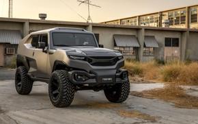 Wallpaper SUV, industrial zone, 2017, Rezvani, Tank V6