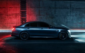 Picture Mercedes, 4matic, E63 AMG, WHELLS, NIGHT, LIGHTS, AMG STYLE