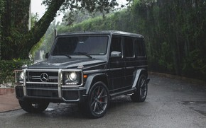 Picture AMG, Rain, Mercedes - Benz, G63