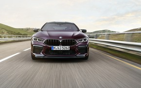 Picture road, coupe, BMW, before, 2019, M8, the four-door, M8 Gran Coupe, M8 Competition Gran Coupe, …