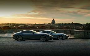 Picture the city, Ferrari, in profile, Roma, 2020