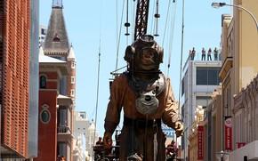 Picture Australia, Perth, arts festival, Perth International Arts Festival, giant diver