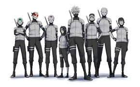 Picture art, Naruto, Naruto, the ANBU, ninja
