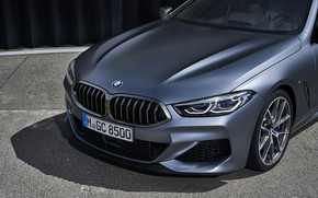 Picture coupe, BMW, Gran Coupe, the front part, 8-Series, 2019, the four-door coupe, Eight, G16