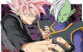 Picture anime, guys, manga, Dragon Ball