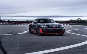 Picture asphalt, Audi, coupe, 2020, RS e-Tron GT Prototype