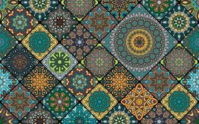 Picture background, pattern, ornament, design, fabric, ornament, geometric, seamless, batik