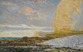 Picture landscape, picture, 1900, Maxime Maufra, Maxim Mora, The Sea shore in Sochi