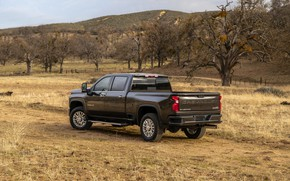 Picture plain, Chevrolet, pickup, Silverado, High Country, 2020, 2500 Heavy Duty
