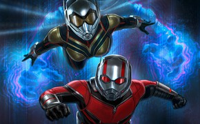 Picture movie, art, characters, Ant-Man and the Wasp