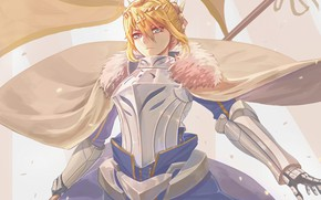 Picture girl, Lancer, the saber, Fate / Grand Order, Artoria Pendragon
