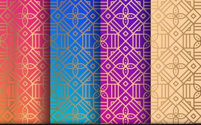 Picture pattern, Geometric, background, floral, Ornament, texture, ornament, pattern, seamless