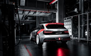 Picture Audi, back, RS 6, 2020, RS6 Avant, RS6 GTO Concept