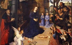 Picture picture, mythology, 1475, Алтарь Портинари, Хуго ван дер Гус, Hugo van der Goes