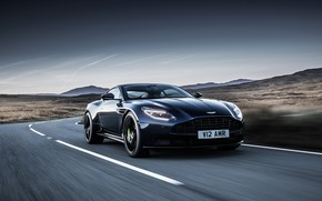 Picture Aston Martin, speed, 2018, DB11, AMR