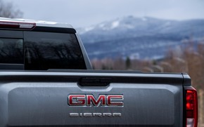 Picture body, pickup, 2018, GMC, feed, Sierra, Crew Cab, 2019, Elevation