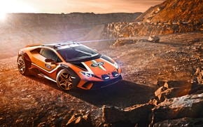 Picture machine, Lamborghini, concept, sports car, Huracan, Dirt
