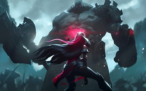 Picture Being, Irelia, League Of Legends, Sion