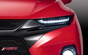Picture headlight, Chevrolet, Blazer, 2019, Blazer RS