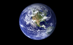 Picture space, Earth, западное полушарие