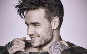 Picture look, pose, smile, male, Liam Payne