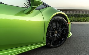 Picture Lamborghini, wheel, Spyder, Evo, Huracan, 2019, Huracan Evo, North America version