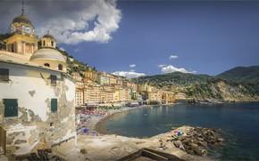 Wallpaper Italy, Liguria, Liguria, Camogli